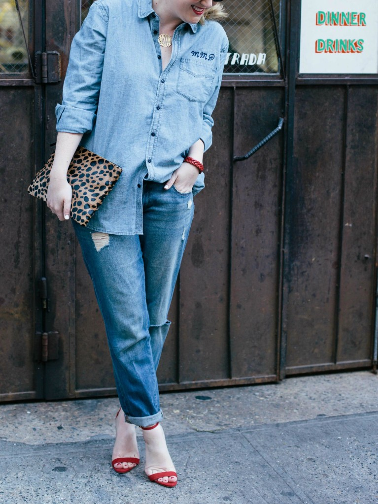 Jeans, High Heels... with Chambray
