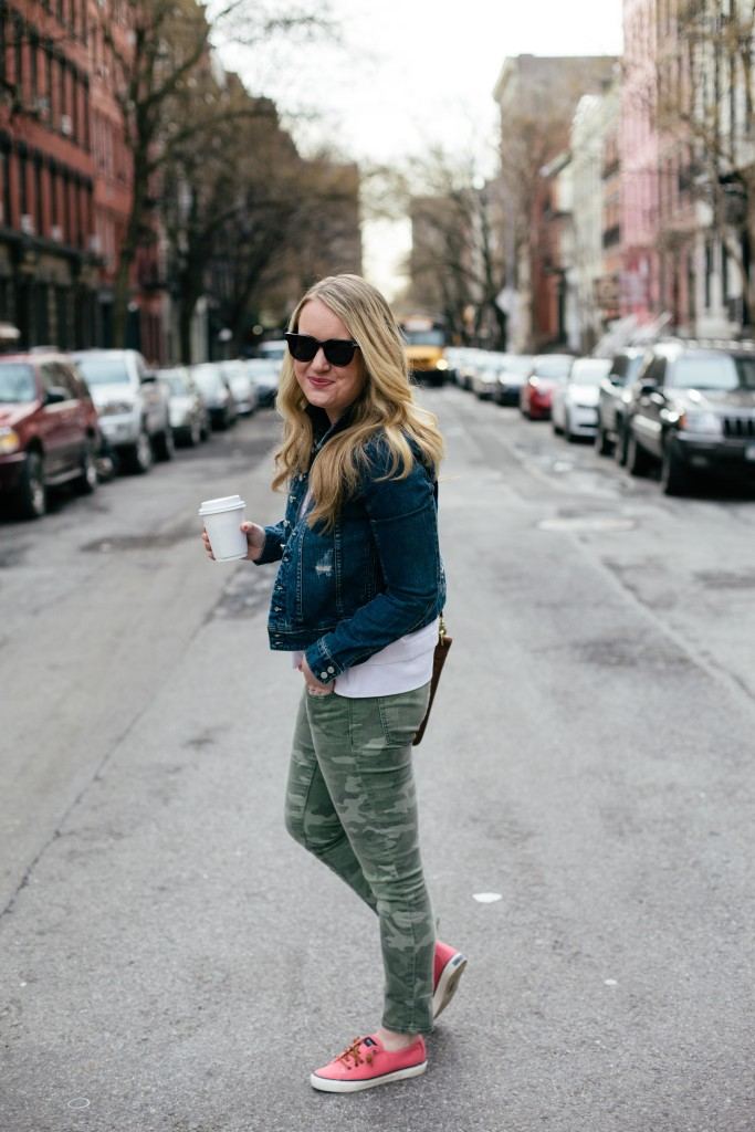 wit & whimsy I denim and camo