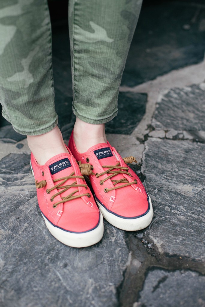 spring sperry sneakers I wit & whimsy