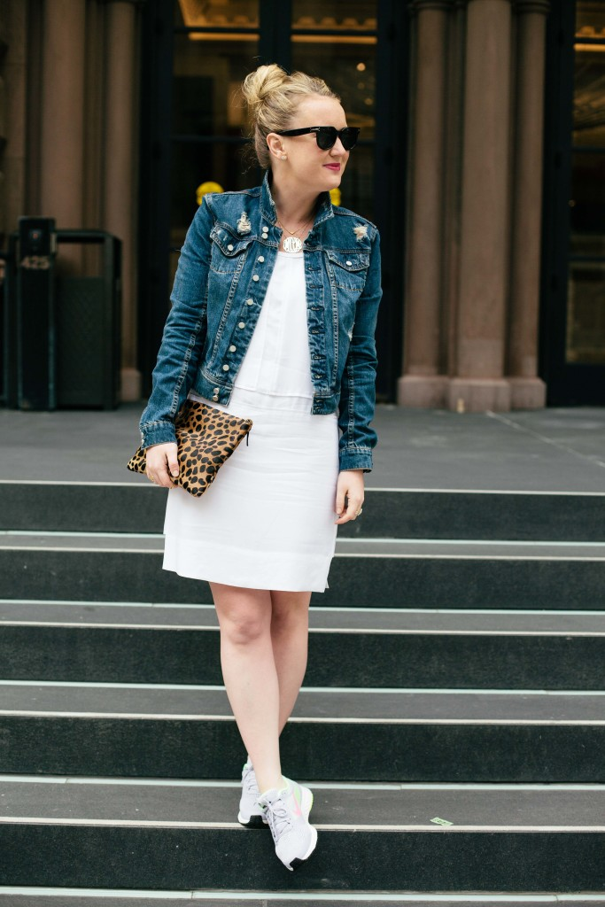 wit & whimsy I how to style sneakers