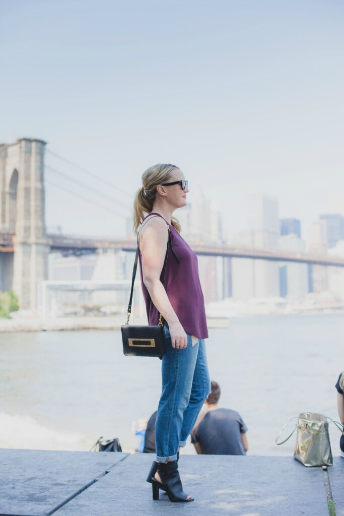 boyfriend jeans in brooklyn I wit & whimsy