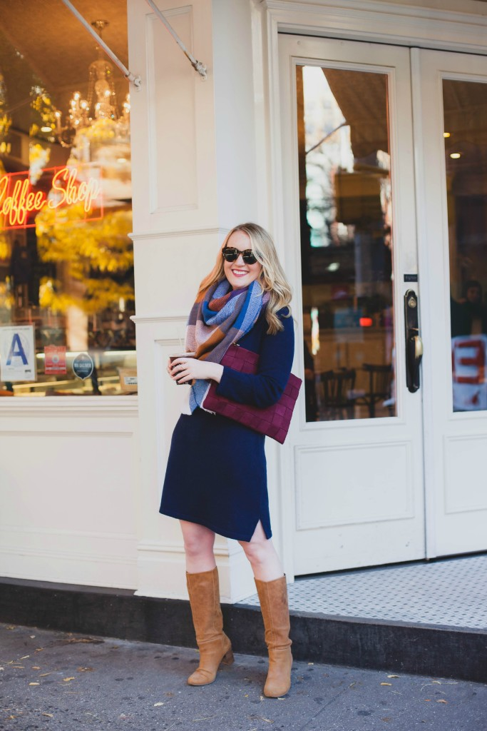 Sweater Dress I wit & whimsy I meghan donovan