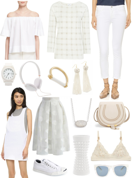 Wednesday Wish List I White Out