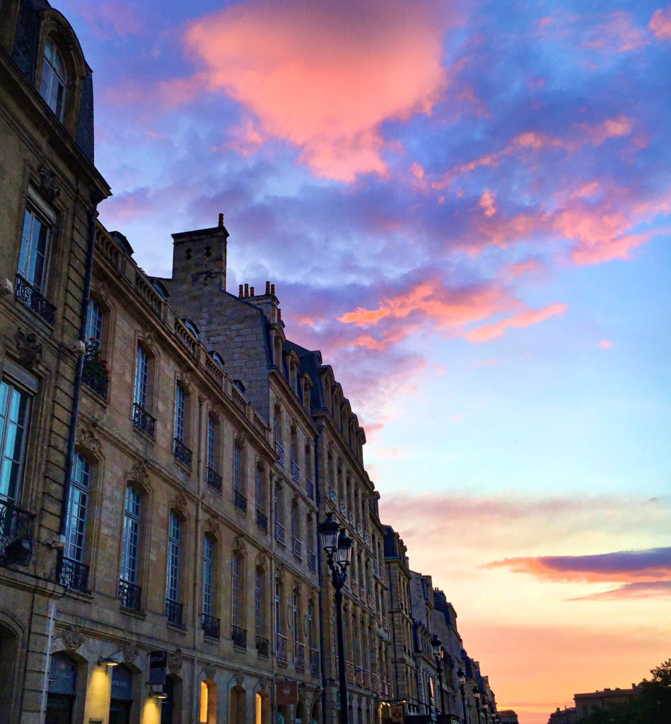Bordeaux Sunset