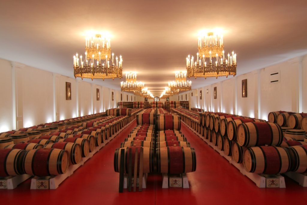 Chateau Pape Clement Winery I Bordeaux