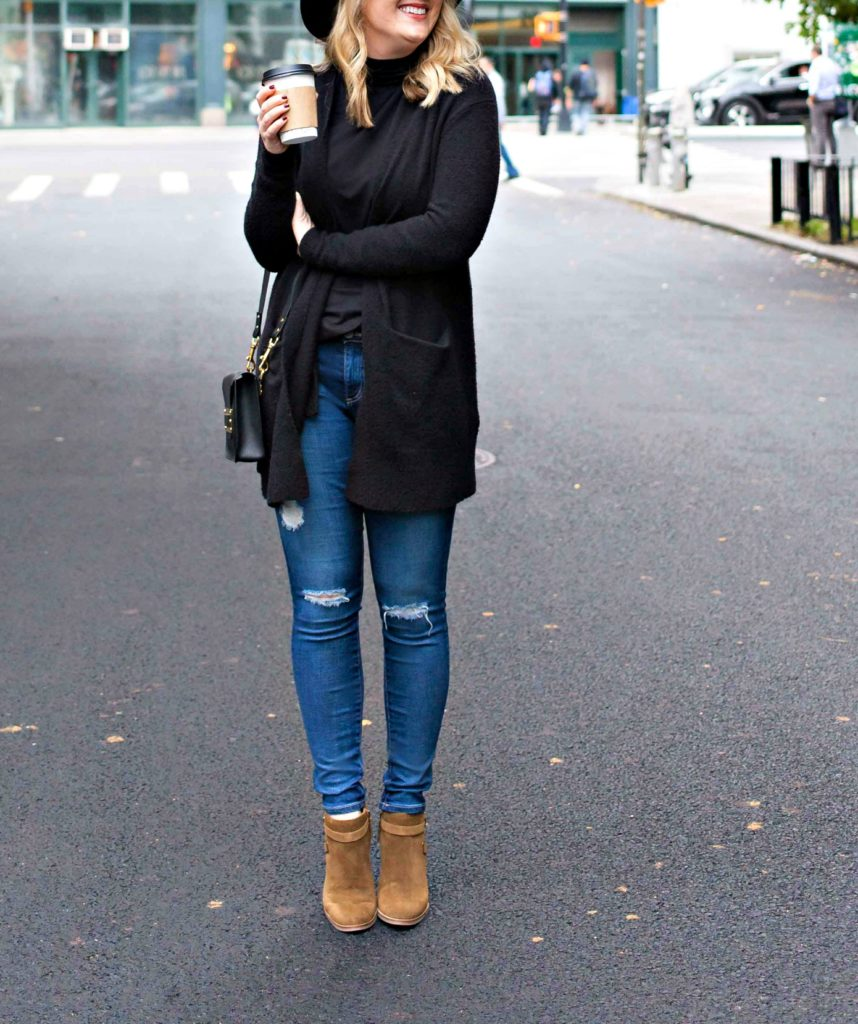 Boyfriend Sweater and Booties