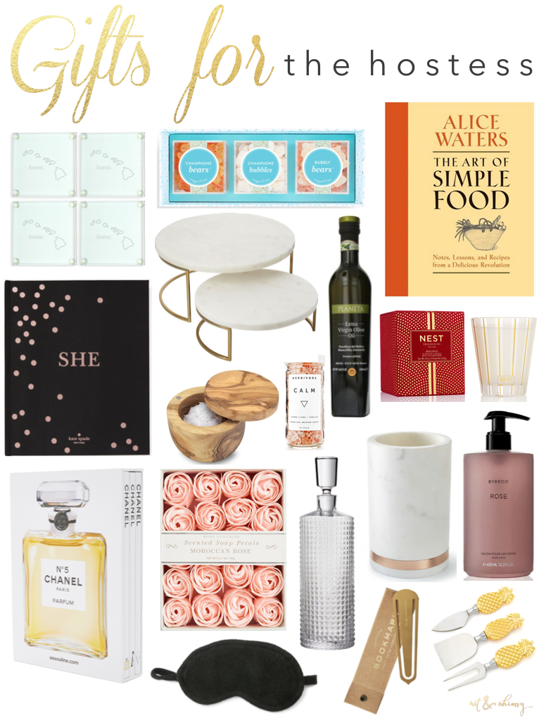 Holiday gift ideas for the hostess wit whimsy for Hostess gifts that travel well