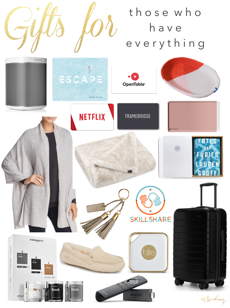 Gifts Ideas For The Person Who Has Everything Wit Whimsy